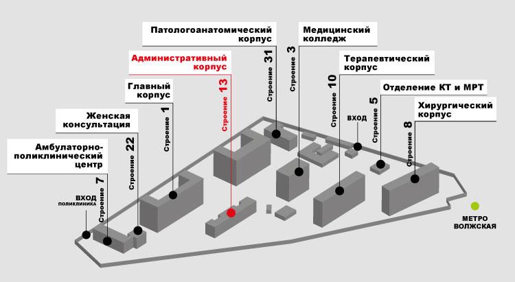 Административный корпус ГКБ имени В.П. Демихова